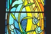 Tiffany-Fantasien / Träume mit Licht, Farbe + Form