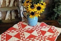 Decorating with Quilts / by Gayle Coble