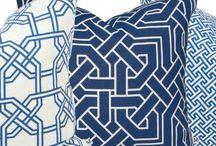 Nina Kullberg collection / Art Deco inspired cushions