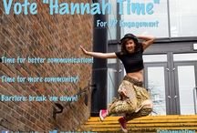 """Hannah Time"" for VP Engagement!"