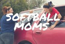 Softball Moms /  #softball #fastpitch #mom #sports