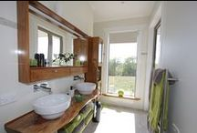 Bathroom Ideas / Beautiful baths and vanities from our suppliers as well as completed Bathrooms by Davies Homes
