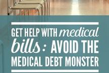 DEBT HELP   Medical Debt / Medical bills are a common problem that put people in debt and ruin their credit scores! Learn how to avoid and manage medical debt so that it doesn't hurt your finances.