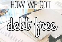 DEBT HELP   Get Rid of Debt / Being debt-free is a greatly feeling that everyone should experience. Learn how to payoff debt so that you can use your money for more enjoyable things in life. These tips work for people of all income levels!