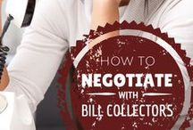 DEBT HELP   Debt Collectors / Debt collectors are not to be avoided. It's best to find a way to pay off your debt responsibly. Follow this board to find out how to deal with debt collectors to your advantage.