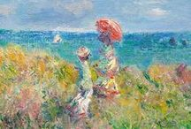 art: claude monet / everyone discusses my art and pretends to understand, as if it were necessary to understand, when it is simply necessary to love