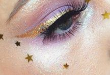 glitter on your face, stars in your eyes