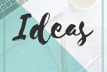 Ideas | NadineAmanduh / Ideas for your home. Ideas for business. Gift Ideas. Party Ideas. Packing ideas