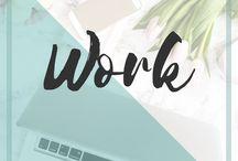 Work | NadineAmanduh / Work. Work etiquette. Working Mom. Work life.
