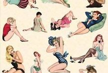 Pin-Up Ilustration / Cool gals