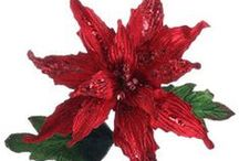 Poinsettias and Other Flowers / Poinsettias aren't limited to red. And they don't have to stay in the pot. Try some of these ideas for decorating with our life-like poinsettias, which can be used for years.