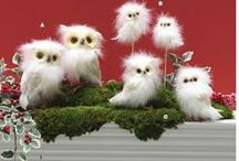 Gifts for the night owl / Shop owl Halloween and Christmas decorations - choose from our large selection of wonderful owls