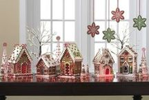 Gingerbread Themed Decorations / A wonderful collection of all things gingerbread