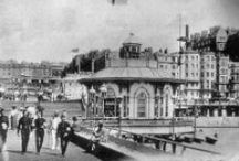 The i360 site. Days gone by / Looking to the past helps us conserve for the future. Parts of the i360 project involve bringing back some of the old Regency structures.