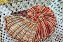 Needlework, weaving, sewing