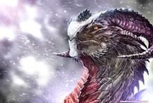 Dragons / Dragon related artwork.