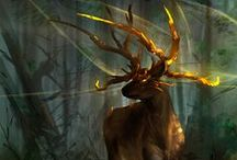 Fantasy Hooves / Horses, unicorns, stags, centaurs and anything with hooves.