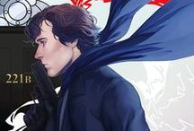 Sherlock / Mostly fanart and quotes from the TV show Sherlock (BBC).