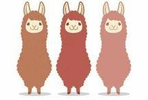 Llama love. / All about llamas