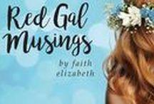 Red Gal Musings Blog