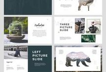 + Powerpoint Template / The pinnacle of slick and professional branding - corporate powerpoint and and keynote design!