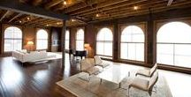 Loft Living / Because the creative artist in me needs the wide open space and natural light to fuel my soul! (want something with privacy though)