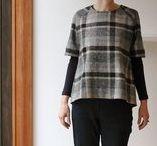 Slow Fashion/Handmade Wardrobe / Wardrobe ideas, sewing techniques, simple style, patterns
