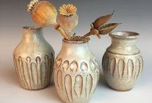 Handmade pottery vases / Handmade pottery vases, vases I love, bud vases, large vases, decorative vases, vase, home decor, floral display.