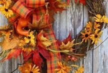 Wreaths / Wreaths can improve your home's curb appeal. You can change them seasonally or for special holiday events. Included are some DIY Wreaths that you can make.
