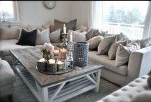 Thuis woonkamer / ideeën van stylen en kleuren