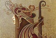 Szecesszió és art deco (art nouveau )
