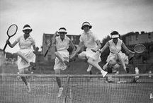 Vintage Tennis / Celebrating the game of tennis and the fashion worn throughout the times.