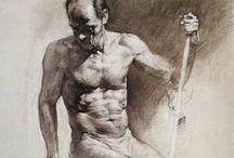 Curso de desenho Figura humana masculina