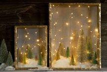Rustic Christmas / Things to make for Christmas.  Rustic Holiday DIYs, Cottage Christmas ideas.  #Christmas #rusticChristmas