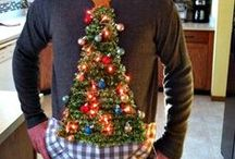 Ugly Sweater Party / The ugliest of ugly Christmas sweaters.  Ugly Christmas Sweater Party ideas. #uglysweaterparty #uglysweater