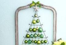 Modern Christmas Tree Designs / Alternative Christmas Trees / Alternative Christmas trees.  Apartment Christmas Tree, condo Christmas tree ideas. Modern Christmas trees. #Christmastree #alternativetree