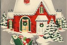 Vintage Christmas / Vintage Christmas from ornaments to colors. #Christmas #vintageholiday