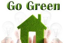 Go Green! / Be environmentally friendly! Save money and the planet. #greentips #greenliving #greenchoices #Save money #Savegreen