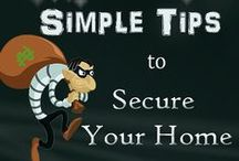 Safety & Security / Tips to keep you safe at home and away. #Safety #Security #HomeSafety #HomeSecurity #HomeOwnership