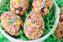 Easter Recipes / Recipes for #EasterBrunch #EasterSupper #Breakfast #EasterDesserts #Treats & #Sweets