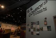 Real Cowboys on the Trail / Exhibit featuring the real cowboys of the historic Chisholm Trail. Photos and short stories submitted by their friends and family. This exhibit will remain on display from March 2015 through December 2017.