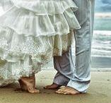 Beach Vows - Destination & Beach wedding ideas / Beach wedding ideas including jewelry, decorations, cake toppers, favors. #beachwedding #destinationwedding #nauticalwedding