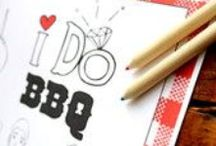 I do BBQ Wedding / I Do BBQ ideas from decorations, invitations to wedding favors.  Tips for hosting a backyard wedding.  #IdoBBQ #BackyardWedding
