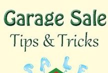 Garage & Yard Sales / Time for a yard sale? This board is about #Tips and #Tricks to help you have a successful one. #HomeOwnership #HomeSelling #Declutter #GarageSale #YardSales
