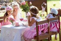 Tea party themed birthday / Tea Party themed Birthday Party.
