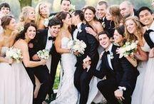 Wedding Party / Wedding Party ideas, Groomsmen, bridesmaid #Bachelorette
