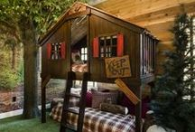 Kids Rooms / Modern kids rooms. Decorating ideas and inspiration. #kidsroom #modernkidsroom