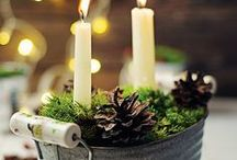 How to Decorate for Christmas / Festive decorating ideas for your home.  #ChristmasDecorating