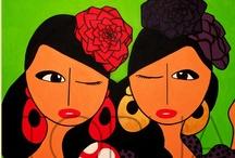 Mis Gitanas -Pinturas- / www.misgitanas.es Pinturas con Arte Flamenco Flamenco Art Paintings