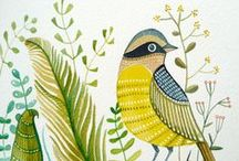 Mosaic inspiration - birds & animals / Animals and living stuff which inspires mosaics